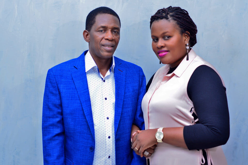 Pastor Solomon and Doreen Mwesige